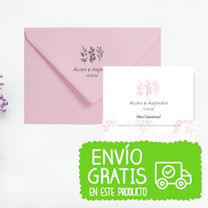 invitación boda pastel