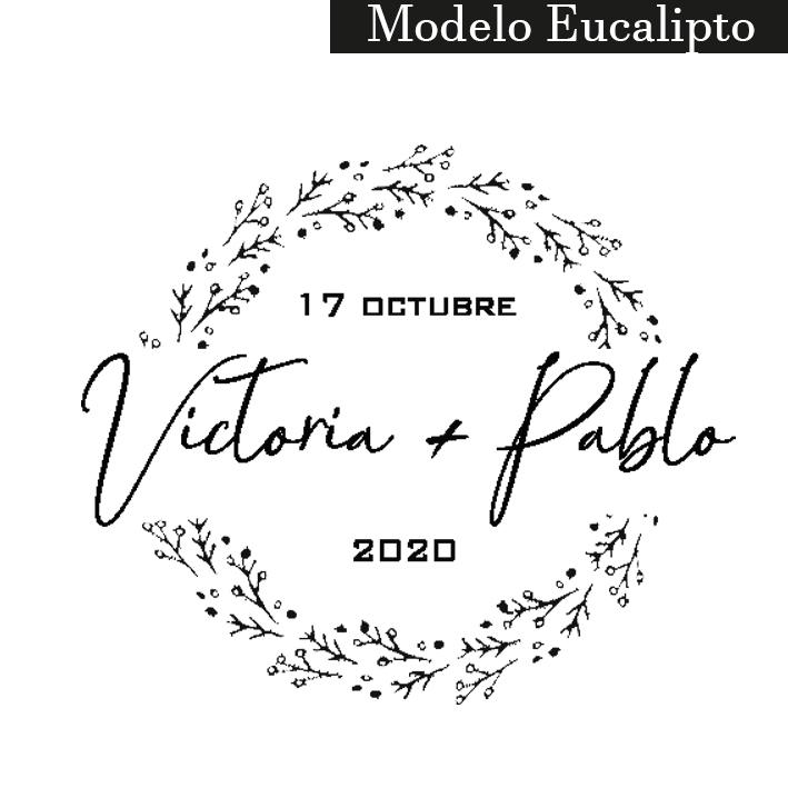 sello modelo eucalipto