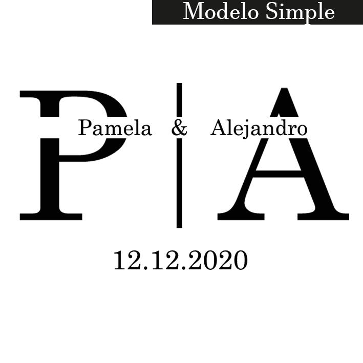 sello modelo simple
